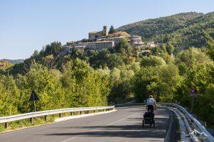 In bici dal piave ai sibillini: da Visso verso Muccia