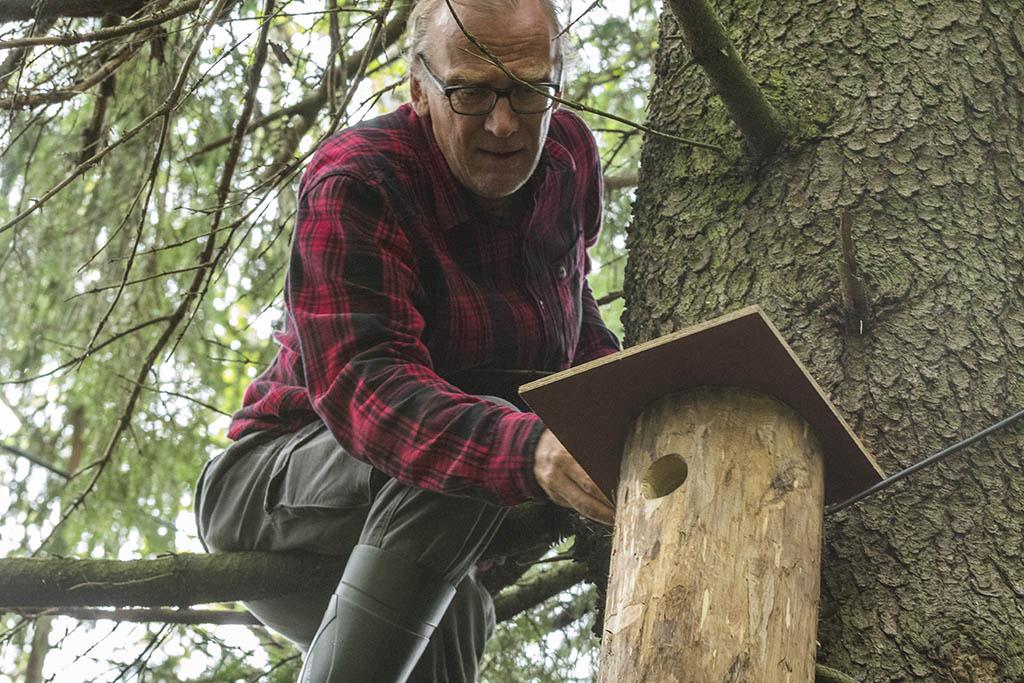 Benjam Pöntinen l'uomo degli scoiattoli volanti