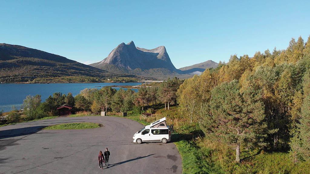 marco e chiara van renault soffietto norvegia