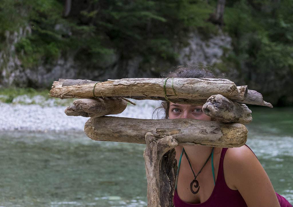 Austria: occhi e creazioni in legno lungo il fiume Schwarza