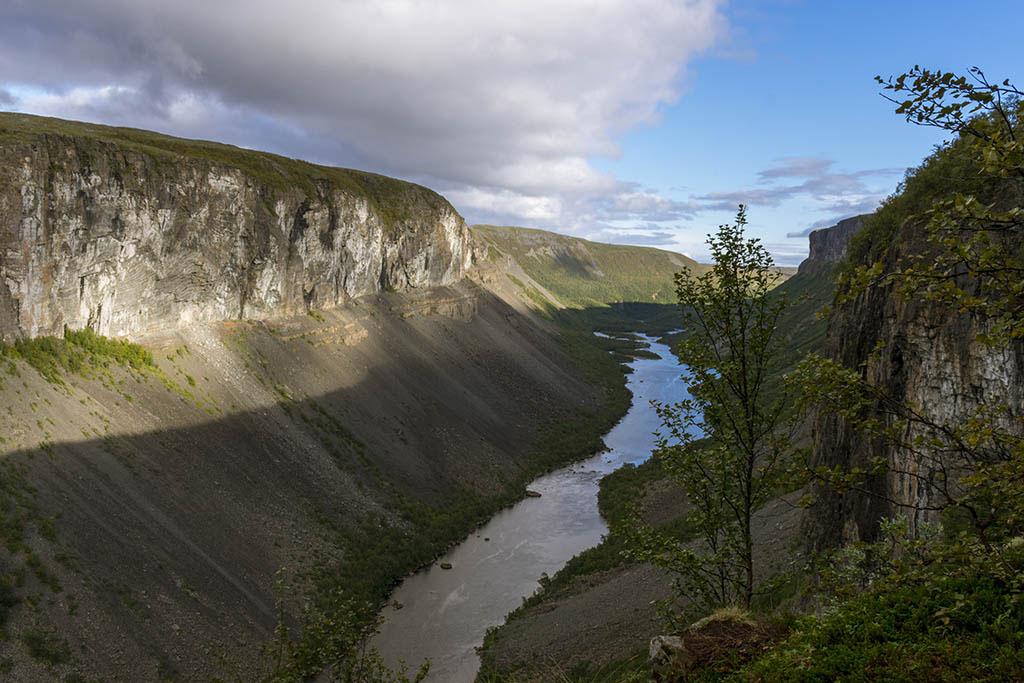 Canyon di Alta in Norvegia