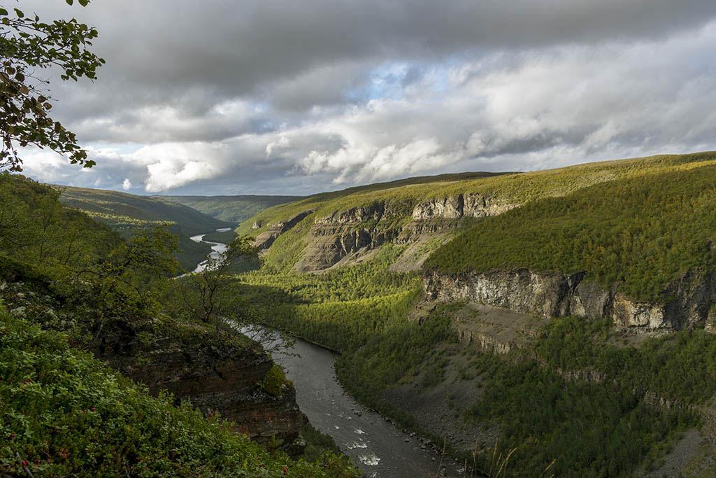 Canyon di Alta il più grande del nord europa