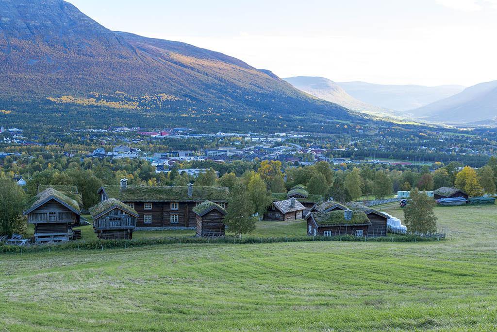 villaggio tipico norvegese